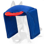 German Shepherd French Linen Dog Bite Guide Tug for Schutzhund Training