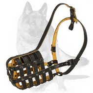 'The Premier Extravaganza' - Everyday Light Weight Royal German Shepherd Muzzle