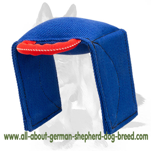 Reliable French Linen bite dog pad