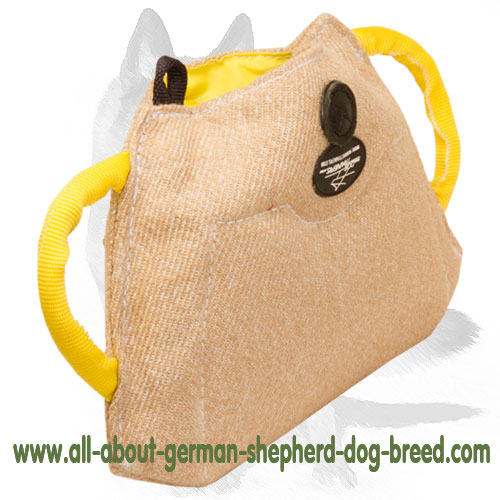 Durable Jute puppy bite builder for