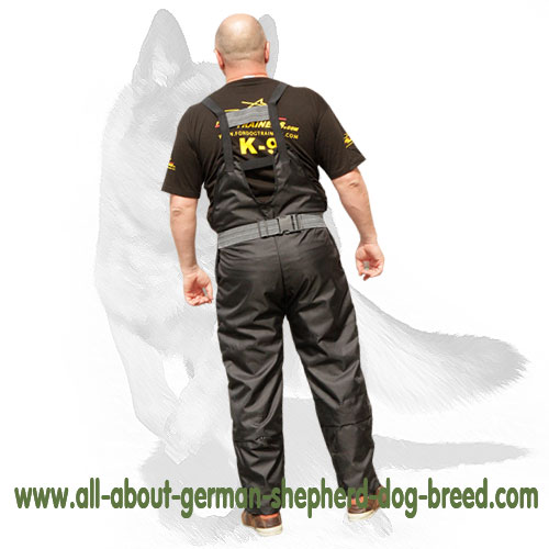 Training scratch pants for protection