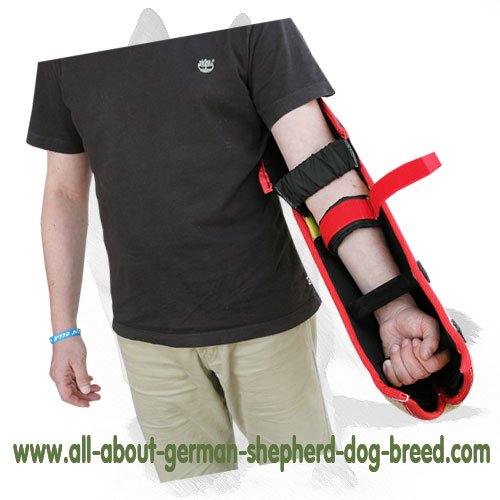 Comfy to hold bite dog sleeve