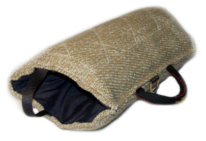 Puppy Training Jute Half Bite Sleeve for Young Dogs Training