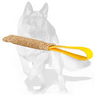 35% OFF - LIMITED OFFER! Jute Bite Tug with Comfortable Loop