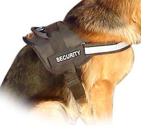 REFLECTIVE Dog HARNESS with a handle for German Shepherd