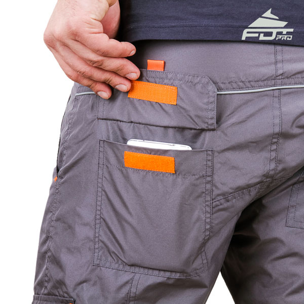 Comfortable Design FDT Pro Pants with Strong Side Pockets for Dog Training