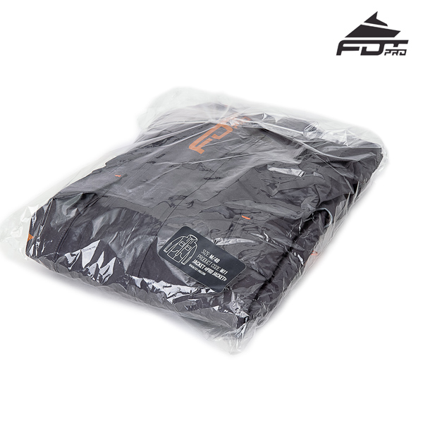 Pro Dog Tracking Jacket with Best quality Velcro Patches
