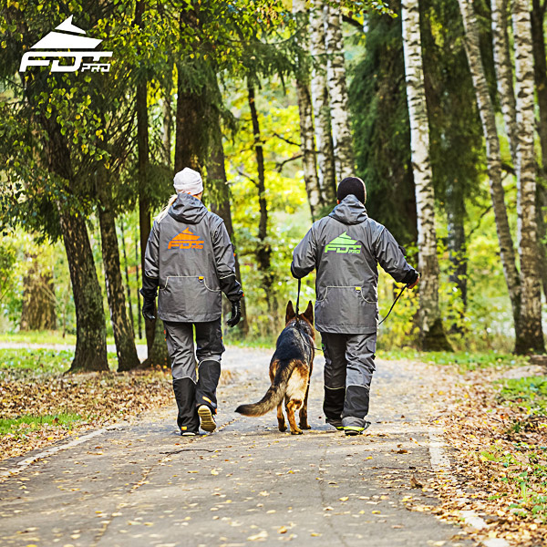 Pro Dog Training Jacket of Fine Quality for Any Weather