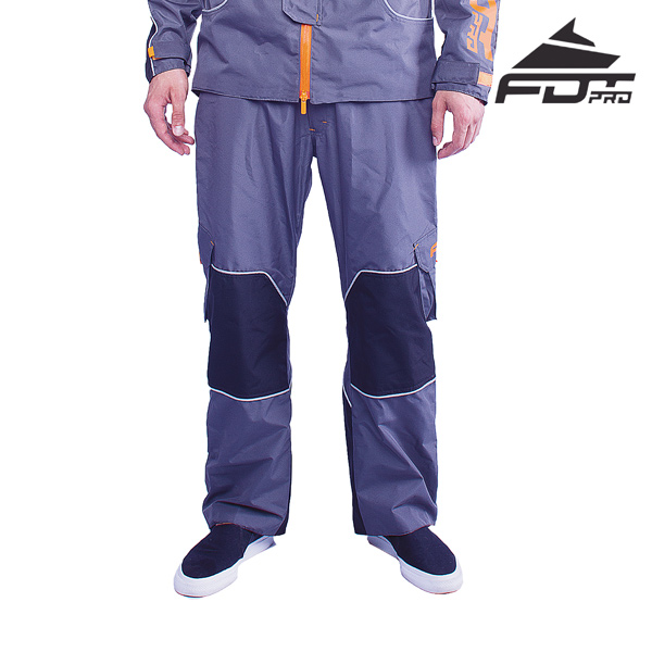 FDT Pro Pants of Grey Color for Everyday Activities