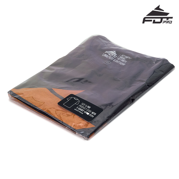 Filled FDT Professional T-shirt Dark Grey Color