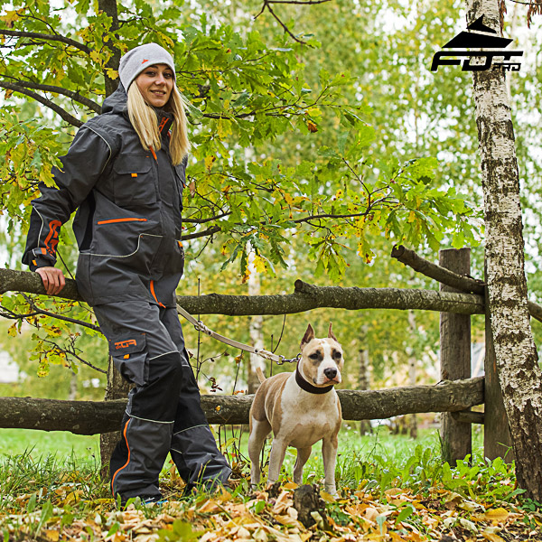 Convenient Side Pockets on Men / Women Design Pants for Active Dog Trainers