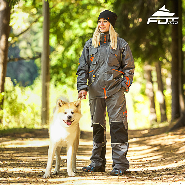 Men and Women Design Dog Trainer Jacket of Fine Quality Materials