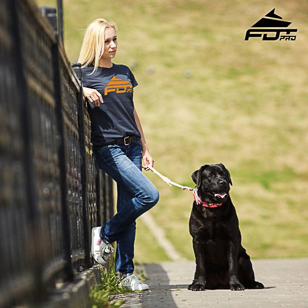 Dog Trainers Women T-shirt of Quality Cotton