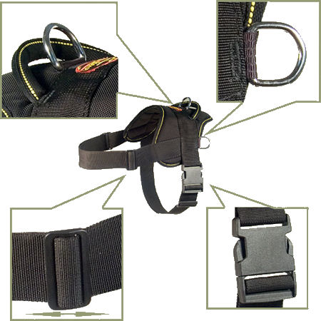 Hug a dog harness for German Shepherd