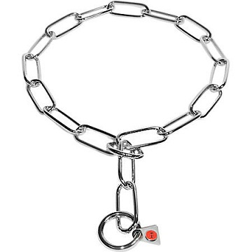 Fur Saver Stainless Steel Choke Chain Collar For Gsd 16 Inch 4 0