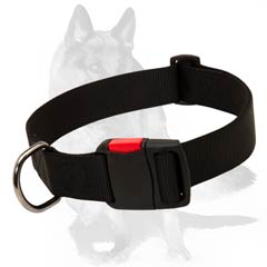 Weatherproof nylon collar