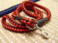 Cord nylon dog lead for large dogs like GSD,Rottweiler,Doberman