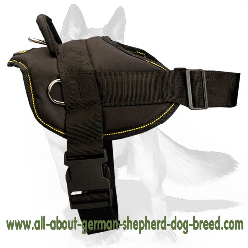 'Adventure Prime' Adjustable Nylon Dog Harness for German Shepherd