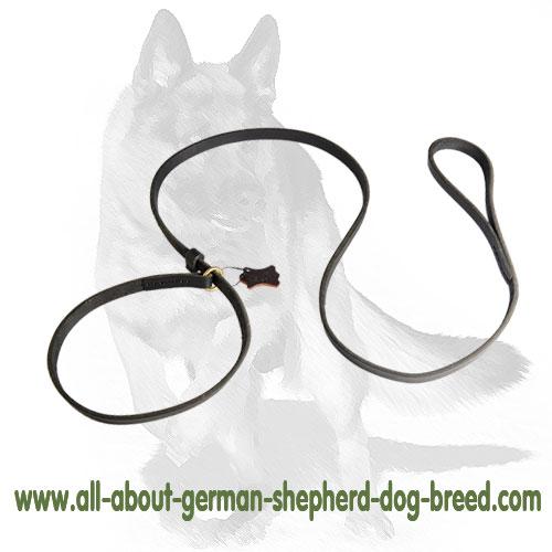 Leather Dog Slip-Lead