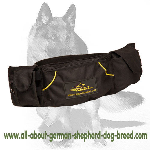 German Shepherd Toys and Treats Nylon Dog Bag