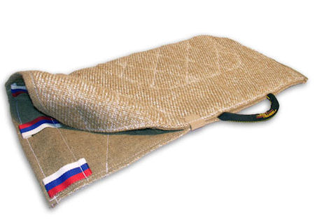 Protective jute sleeve cover