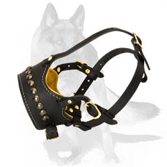 Long life German Shepherd Muzzle for safe