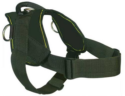 Patrol and Tracking harness for German Shepherd