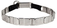 FUN-19'' STAINLESS STEEL dog collar NECK TECH COLLAR