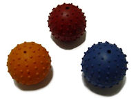 Rubber Squeaky Ball Dog Toy 2 3/8''(6cm)-German Shepherd Dog Toy