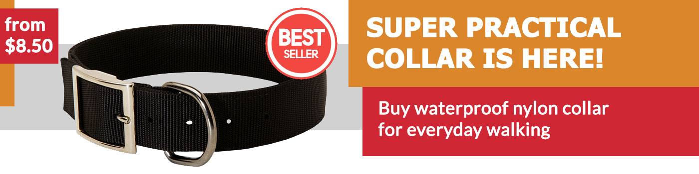 Multipurpose Nylon Collar for German Shepherd