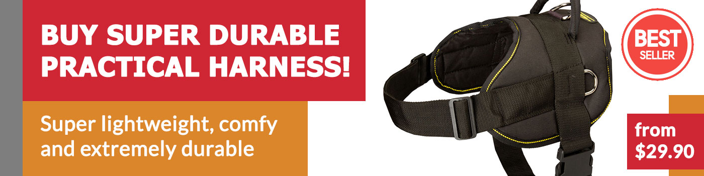 Comfort Wrap Adjustable Dog Harness for German Shepherd